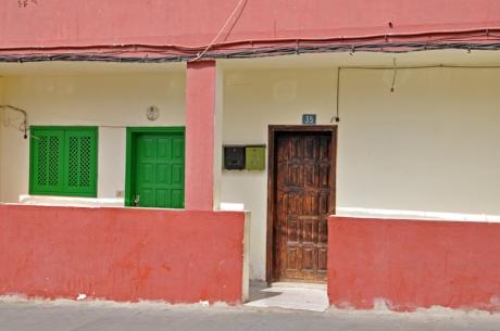 Hausvorderfront-Fuerteventu