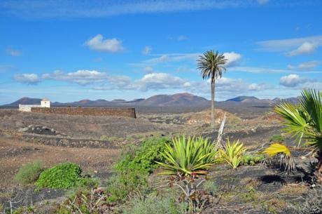 Vulkanlandschaft-Lanzarote-